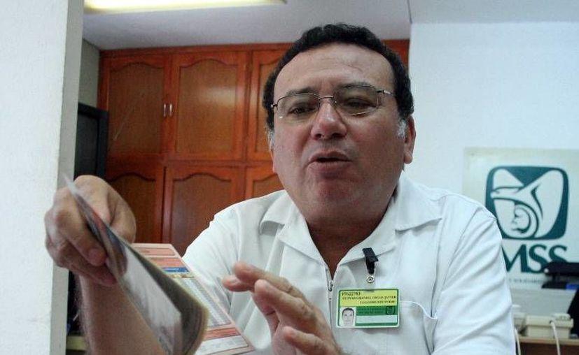 Oscar Cuevas Graniel  señaló que el programa ofrece acciones preventivas. (Milenio Novedades)