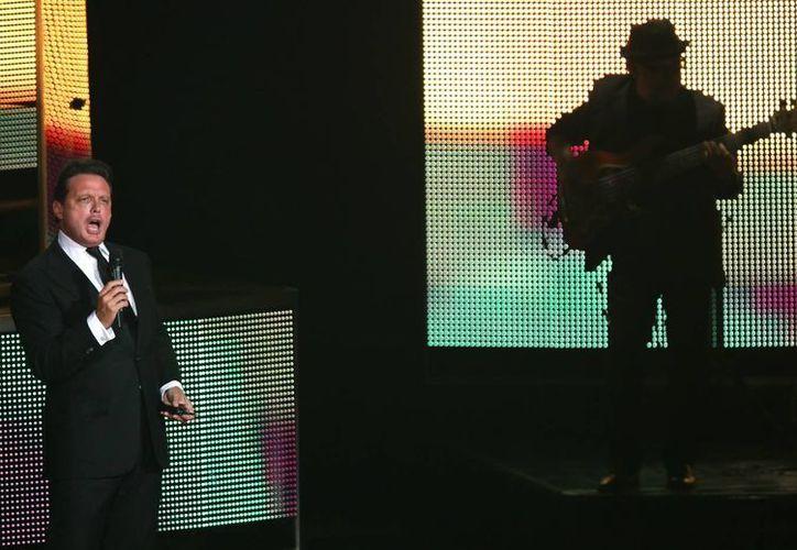 Luis Miguel será uno de los artistas principales para celebrar en Las Vegas El Grito por la Independencia de México. (EFE)