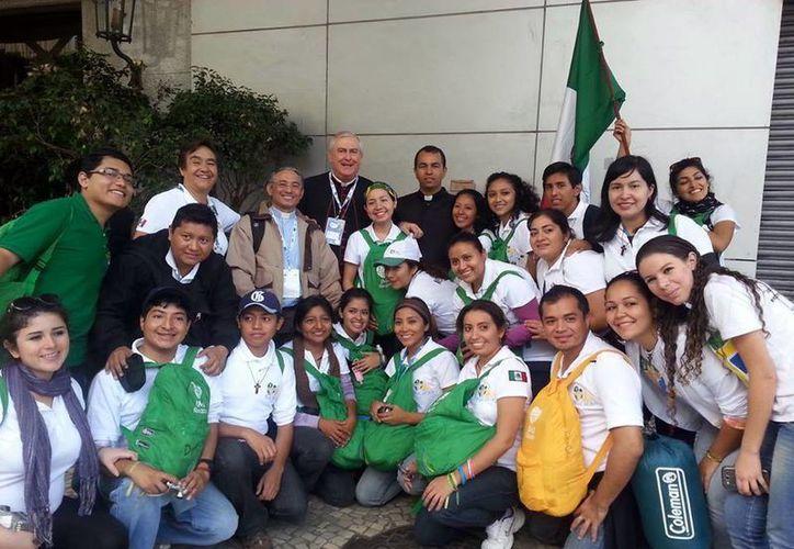 Los jóvenes que viajaron a Brasil retornan el 4 de agosto. (Milenio Novedades)