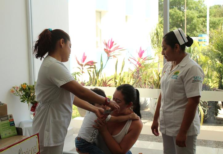 El Hospital General de Playa del Carmen no enfrenta por el momento situaciones adversas para  brindar servicios a la población. (Octavio Martínez/SIPSE)