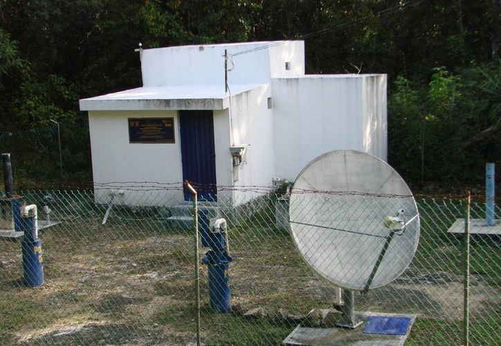 La estación sismológica de Felipe Carrillo Puerto fue montada por el Instituto de Geofísica de la Universidad Nacional Autónoma de México en 1996. (Manuel Salazar/SIPSE)