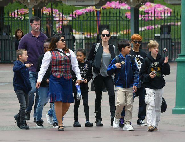 Angelina Jolie y su millonaria inversión para estar cerca de Brad Pitt
