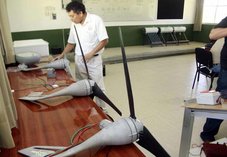 Ventiladores que generarán la energía sustentable. (Milenio Novedades)