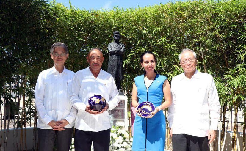 Se realizó un homenaje en el marco de los 100 años de la llegada del doctor a Mérida. (Foto: Novedades Yucatán)