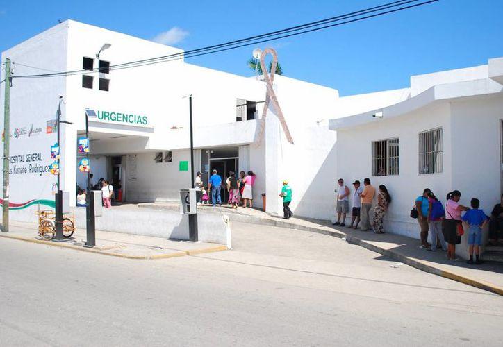 Los hospitales de la Secretaría de Salud son los únicos que ofrecen el servicio a la población siempre que esté afiliada al Seguro Popular. (Tomás Álvarez/SIPSE)