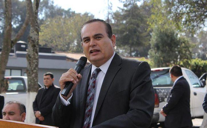 El procurador de Michoacán dio a conocer los avances sobre la investigación del asesinato del sacerdote José Alfredo López Guillén. (Quadratín)