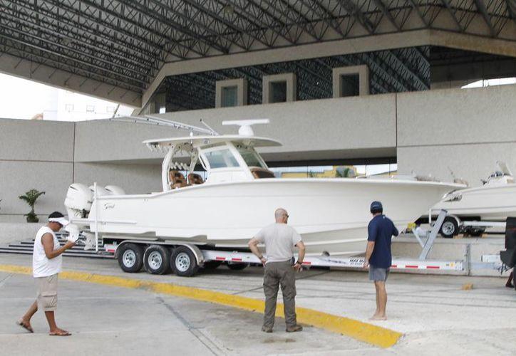 Se realiza la tercera edición del Boat Show y Salón Náutico. (Israel Leal/SIPSE)