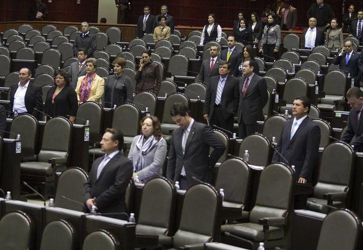 La sesión de discusión de la reforma política iniciará al medio día de este jueves. (Notimex)