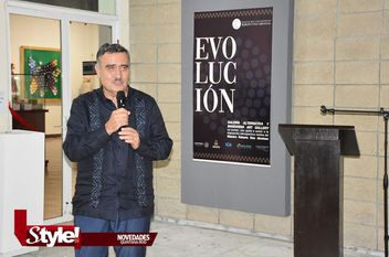 """""""Evolución"""" exposición alternativa"""