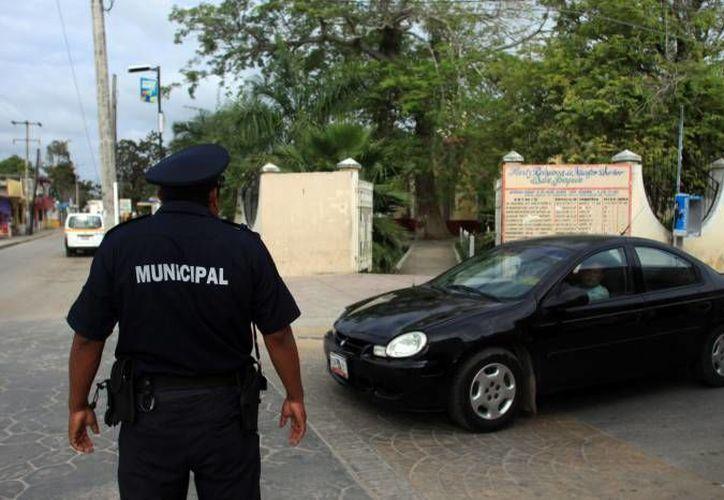 Los accidentes viales van a la alza en el décimo municipio. (Carlos Horta/SIPSE)