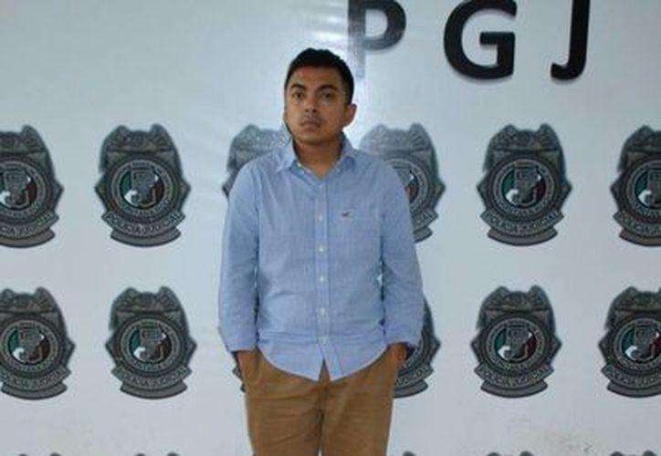 Haziel Paulino Salas Escalante quedó a disposición del Ministerio Público. (Redacción/SIPSE)