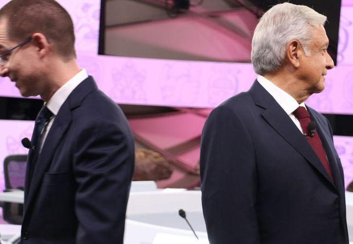 Ricardo Anaya realizó las acusaciones durante el tercer debate presidencial realizado en Mérida Yucatán. ( CUARTOSCURO)