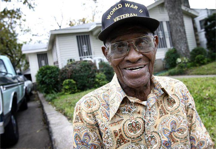 Richard Overton nació el 11 de mayo de 1906 en Texas, es nieto de un esclavo nacido en Tennessee. (Foto: Internet)