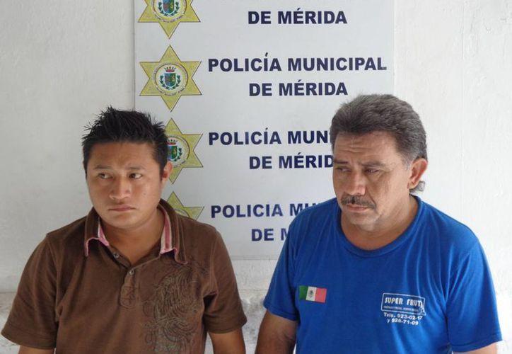 Los ladrones acababan de despertar cuando fueron detenidos, a las 06:30 horas. (Cortesía)