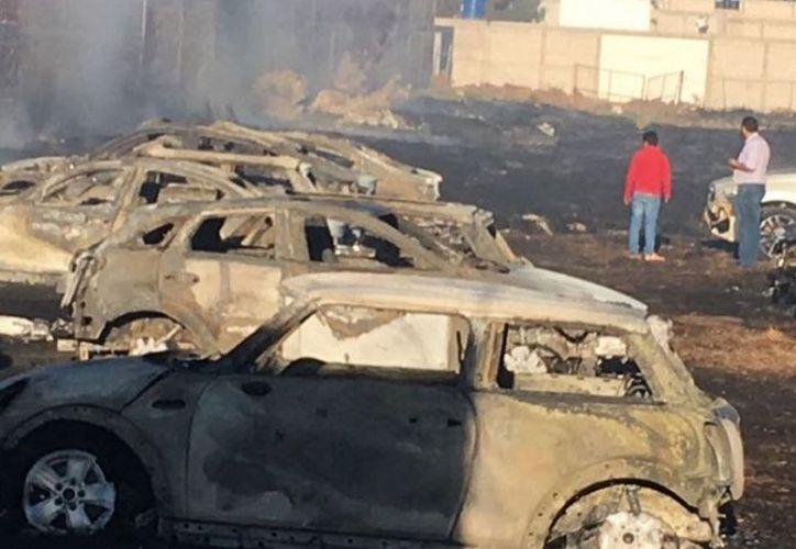 Una detonación pirotécnica en una fiesta cerca del lugar propagó el fuego en la zona. (Foto: Emmanuel Rincón).