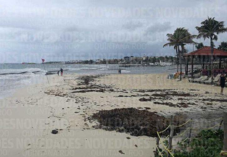 La suspensión de las actividades turísticas en la zona de playa se prolongarán hasta este lunes. (Redacción)