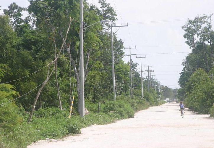 La comuna tulumnense exhortará a los dueños de terrenos abandonados, para que los mantenga en buen estado.  (Rossy López/SIPSE)