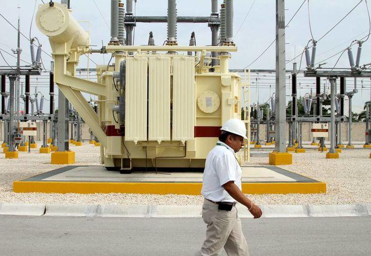 La subestación Riviera Maya Potencia surte de energía eléctrica a los seis municipios de la zona norte de Quintana Roo. (Octavio Martínez/SIPSE)