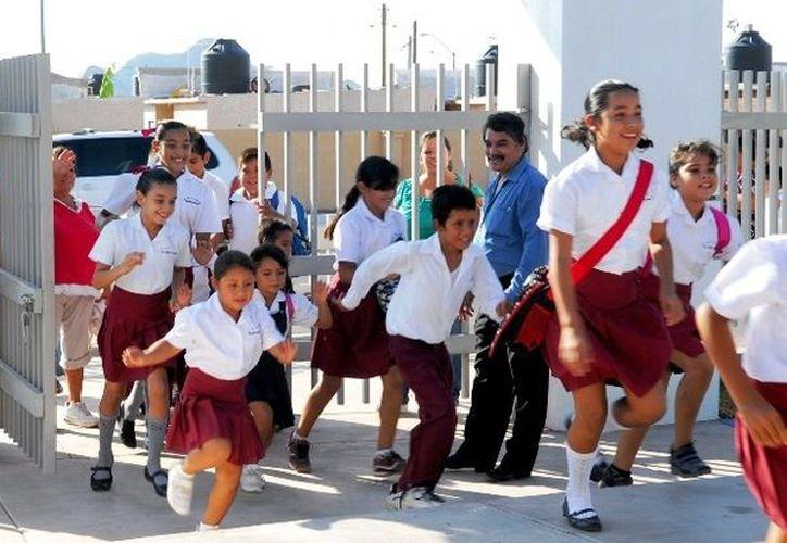 Los alumnos tendrán dos semanas y medias de clases. (Contexto/Internet)