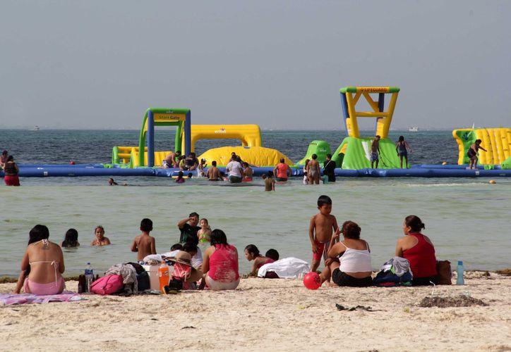 Float Fun Cancún estará en Playa Langosta. (Foto: Redacción)