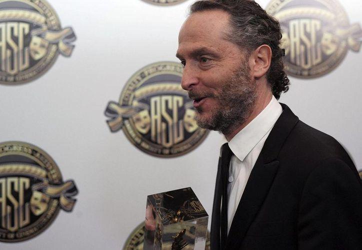 """Emmanuel Lubezki ganó el premio Bafta a mejor fotografía por la cinta """"The Revenant"""". (EFE)"""