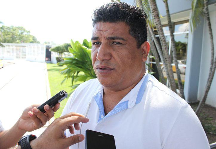 Dimas Romero González, representante estatal de Antorcha Campesina, informó que no han tenido acercamiento con ningún candidato. (Joel Zamora/SIPSE)