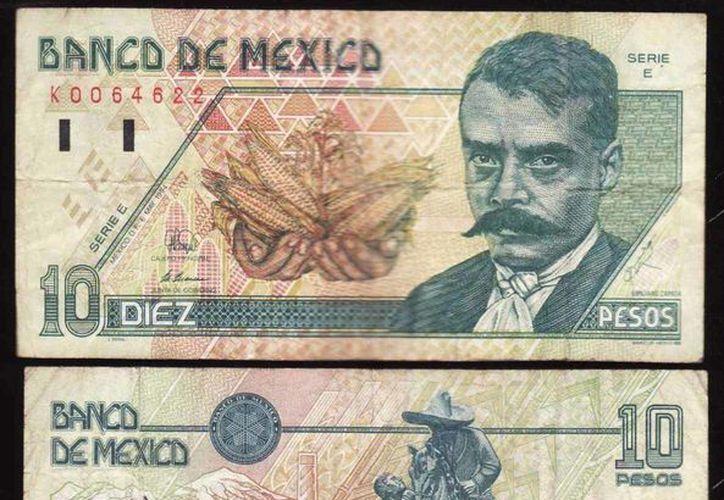 El 'Caudillo del Sur' se convirtió en un emblema de las luchas sociales y su influencia lo llevó a ocupar el billete de 10 pesos en 1994. (mercadolibre.com.mx)