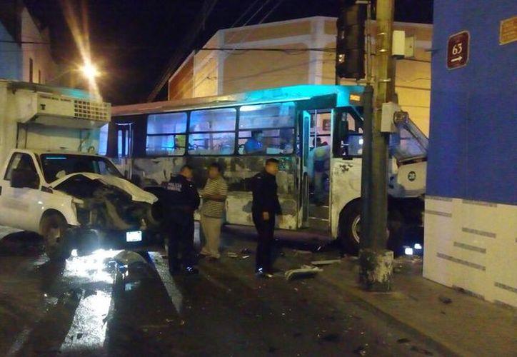 No hubo lesionados de gravedad durante el accidente. (PMM)