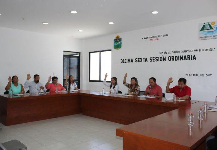 El Cabildo de Tulum aprobó la iniciativa en la Décima Sexta Sesión Ordinaria. (Sara Cauich/SIPSE)