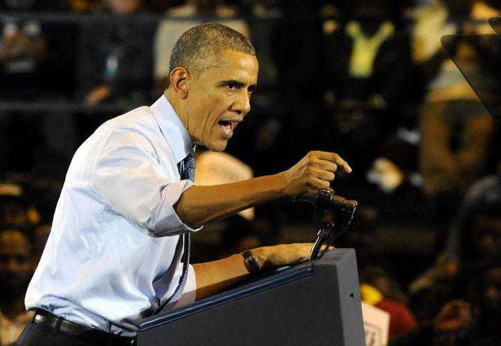 Obama asegura que la opinión de los republicanos no representa la posición de los ciudadanos estadounidenses sobre el tema migratorio. (EFE)