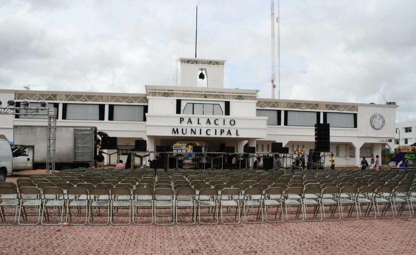 Las autoridades implementaron una reingeniería en el Ayuntamiento. (Loana Segovia/SIPSE)