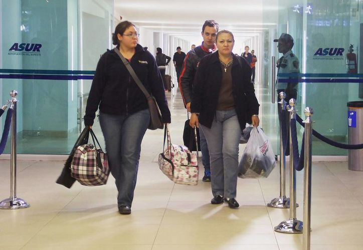 En los últimos tres años, Mérida ha reportado un crecimiento de visitantes por vía aérea. (Milenio Novedades)