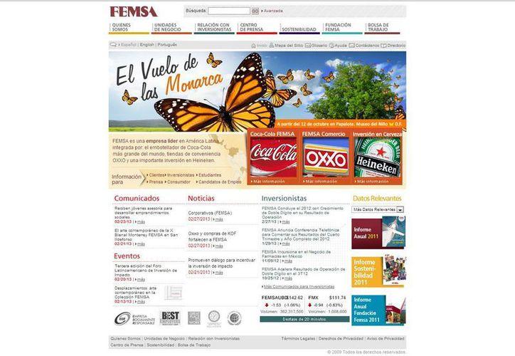 Femsa Comercio está integrado por la cadena de tiendas de conveniencia OXXO y su reciente adquisición  del 75% de la cadena de farmacias YZA.  (femsa.com)