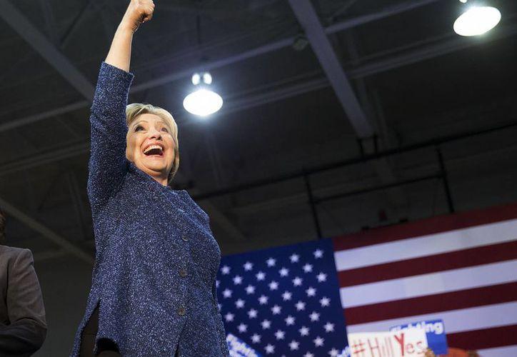 Hillary Clinton es la favorita en Carolina del Sur. (Agencias)