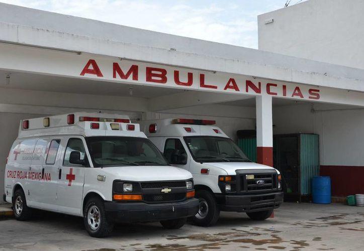 En este periodo vacacional aumentan los llamados de emergencia a la Cruz Roja. (Gerardo Amaro/SIPSE)