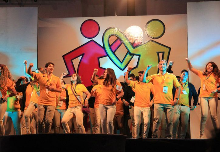 La cita fue ayer, en el Centro de Convenciones de Cancún, en la zona hotelera. (Luis Soto/SIPSE)