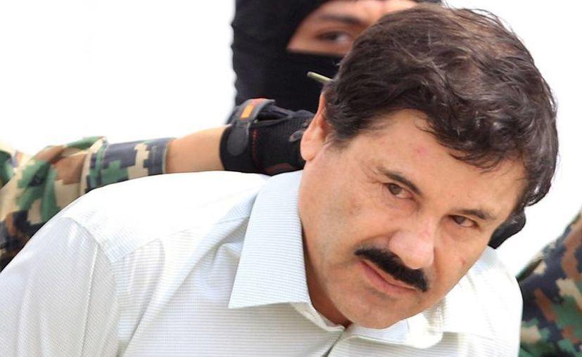El narcotraficante Joaquín <i>El Chapo</i> Guzmán deberá de terminar de purgar su condena a 12 años por cohecho, cuyo cumplimiento quedó interrumpido cuando huyó de la prisión en 2001. (EFE/Archivo)