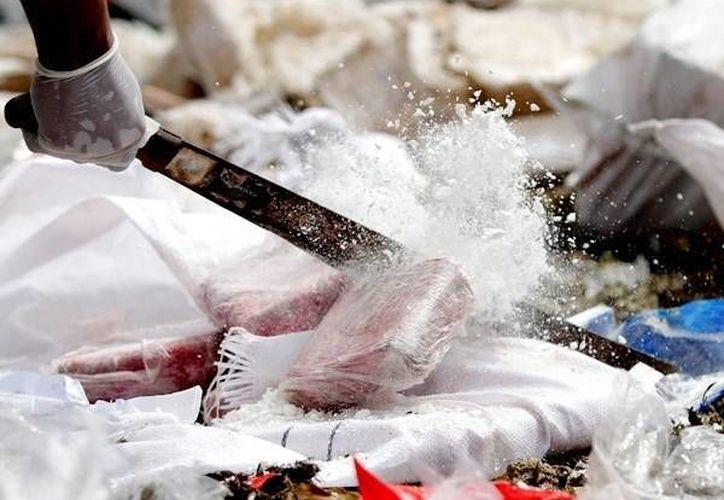 Ecuador es un país considerado de tránsito y almacenamiento de droga, principalmente cocaína, que llega de los carteles de Colombia y Perú. Foto de contexto. (Archivo/Reuters)
