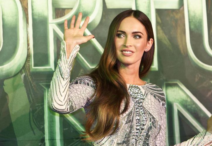 Megan Fox (en la imagen) se asombró de su gran parecido con la actriz uruguaya Bárbara Mori. (AP)
