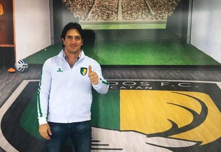 Bruno Marioni, entrenador de Venados FC fue seleccionado como el mejor, por la revista digital de la Liga del Ascenso Bancomer MX. (SIPSE)