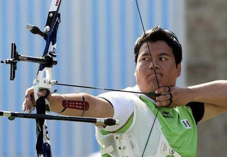 Los deportistas yucatecos Pedro Vivas Alcalá (foto) y Karen Achach Ramírez participarán en los Juegos Centroamericanos y del Caribe en Veracruz. (Milenio Novedades)