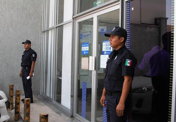 Aún no hay detenidos por el robo perpetrado contra una sucursal bancaria el pasado 14 de septiembre. (Redacción/SIPSE)