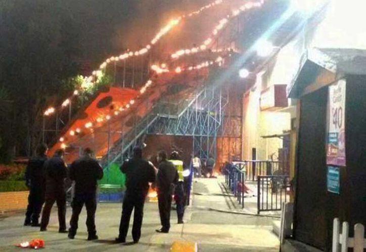 El personal de seguridad de La Feria de Chapultepec indicó que el juego estará cerrado. (Milenio)