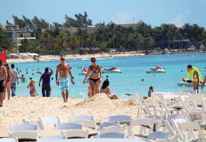 La afluencia turística ha disminuido, sin embargo, los números siguen siendo positivos. (Foto: Octavio Martínez/SIPSE)