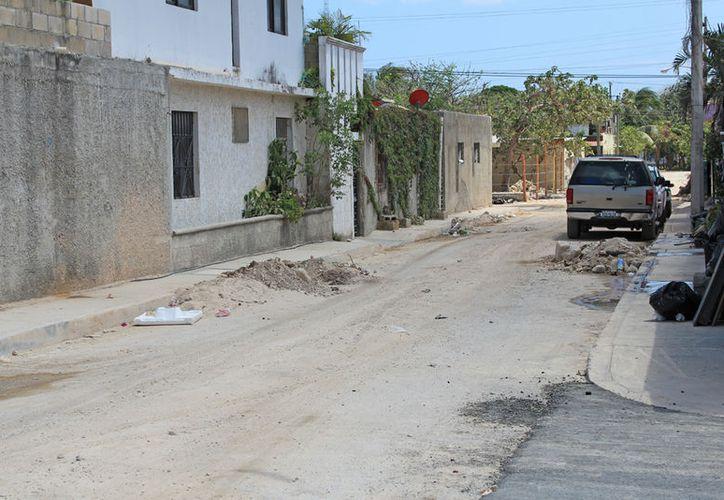 En la región se realizaron trabajos de instalación de redes hidráulicas. (Jesús Tijerina/SIPSE)