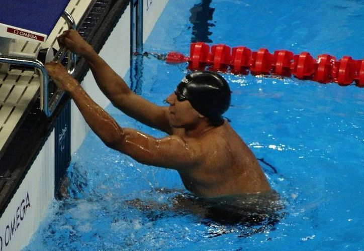 El mexicano Jesús Hernández ganó este viernes medalla de bronce en natación de Río (Tomada de Twitter @CONADE)