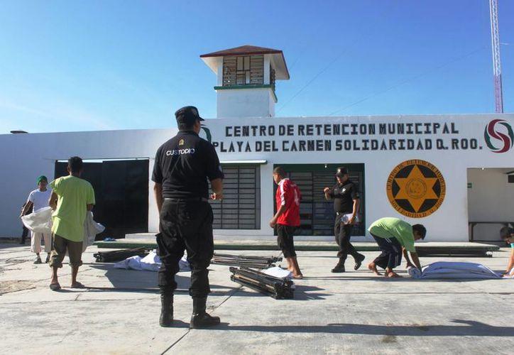 Actualmente en las instalaciones carcelarias de Playa del Carmen hay 698 presos, entre los que se incluyen a 20 mujeres. (Daniel Pacheco/SIPSE)