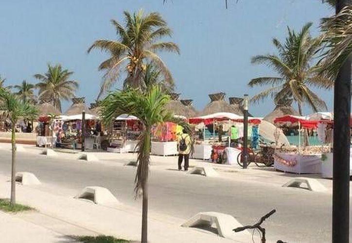 Igual que todo Yucatán, el puerto de Progreso ha resentido calor extremo en los últimos días. (Óscar Pérez/SIPSE)