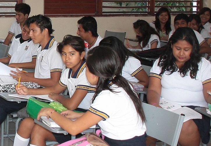 Los alumnos que participaron fueron de 1º, 3º y 5º semestre. (Israel Leal/SIPSE)