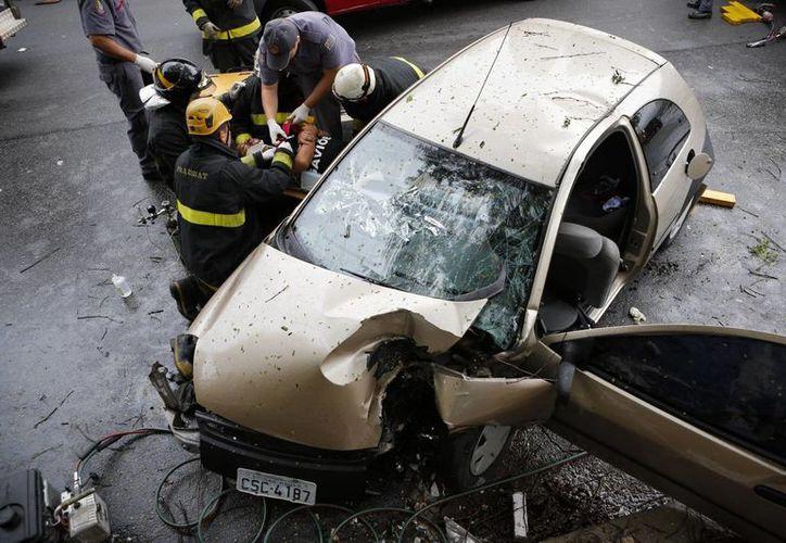 Los automóviles vendidos en Brasil no garantizan la seguridad de los pasajeros, a diferencia de los vendidos en Europa y Estados Unidos, según reveló una investigación periodística. (Agencias)